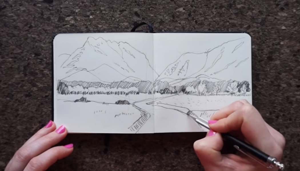 drawing land8