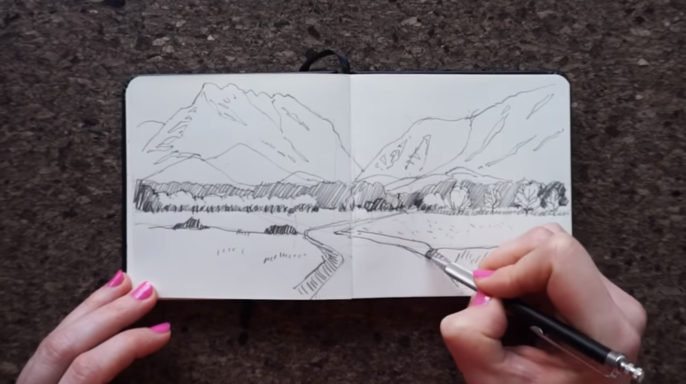 How To Draw Landscapes Like A Landscape Architect Land8