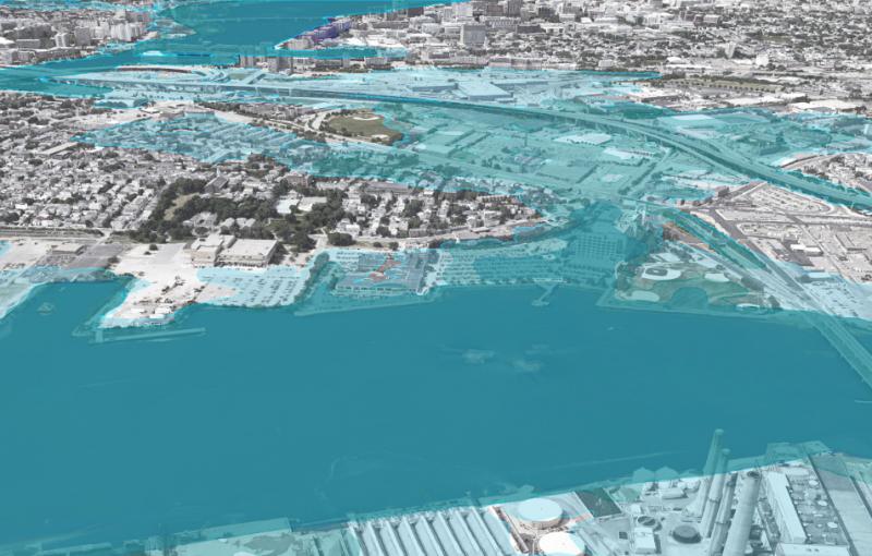 Land8 bao gồm một biến đổi khí hậu thành phố