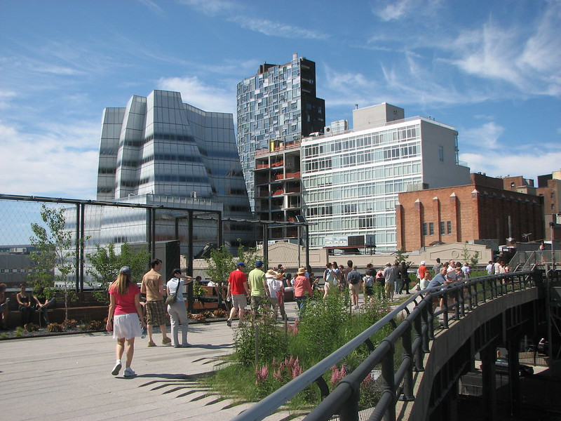 High Line Park - New York City - July 09 by David Berkowitz CC 2.0