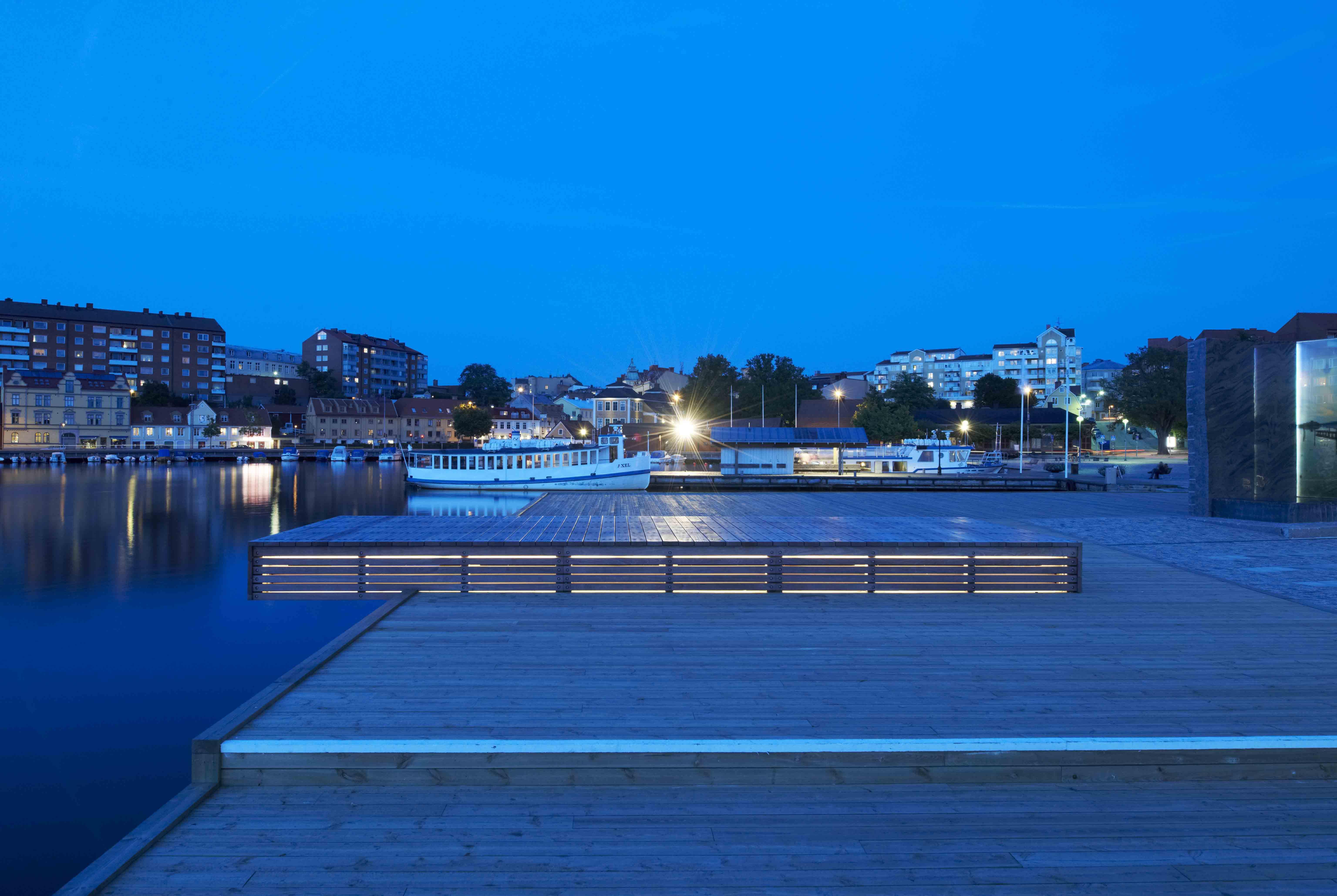 Fisktorget Square, Karlstad Sweden