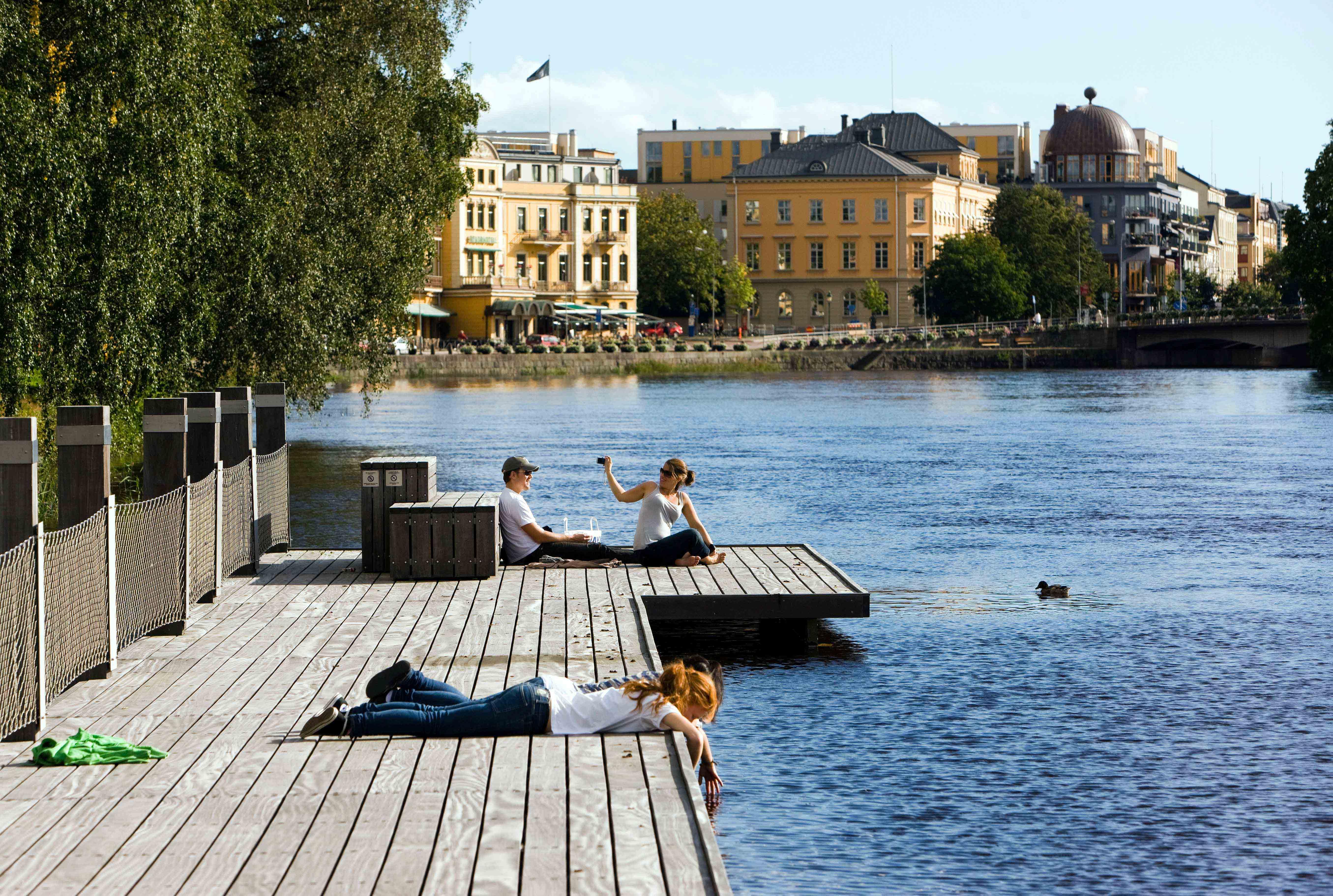The Sandgrund park, Karlstad Sweden