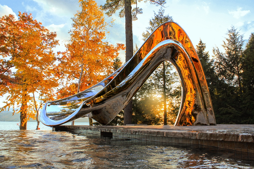 Vertex Pool Slide, New Hampshire