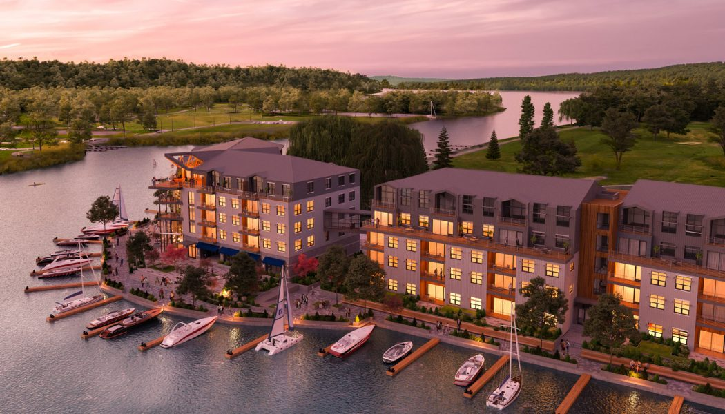 Site Preparation Begins at 158,000-SF 'City Harbor' Project Set to Revitalize Ithaca's Waterfront
