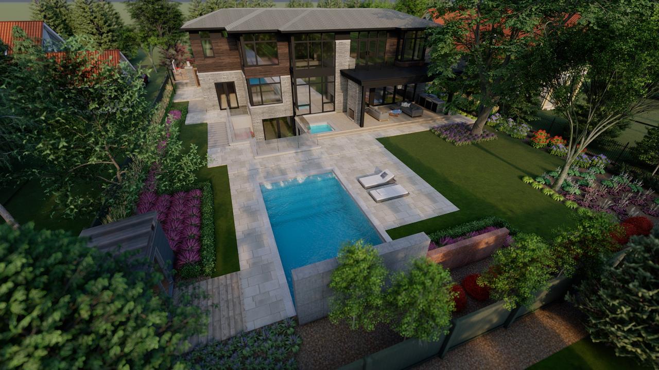 Modern Residence in SE Oakville