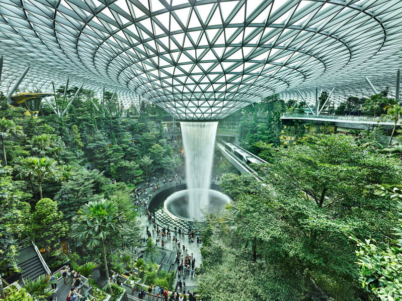 View of the Jewel Changi Airport