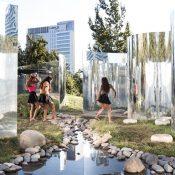 Your Reflection Pavilion by Guillermo Hevia Garcia and Nicolas Urzua Photo by Nico Saieh