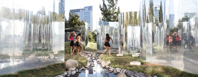 Your Reflection Pavilion by Guillermo Hevia Garcia and Nicolas Urzua Photo by Nico Saieh