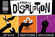 Pardon Our Disruption x The Urban Studio