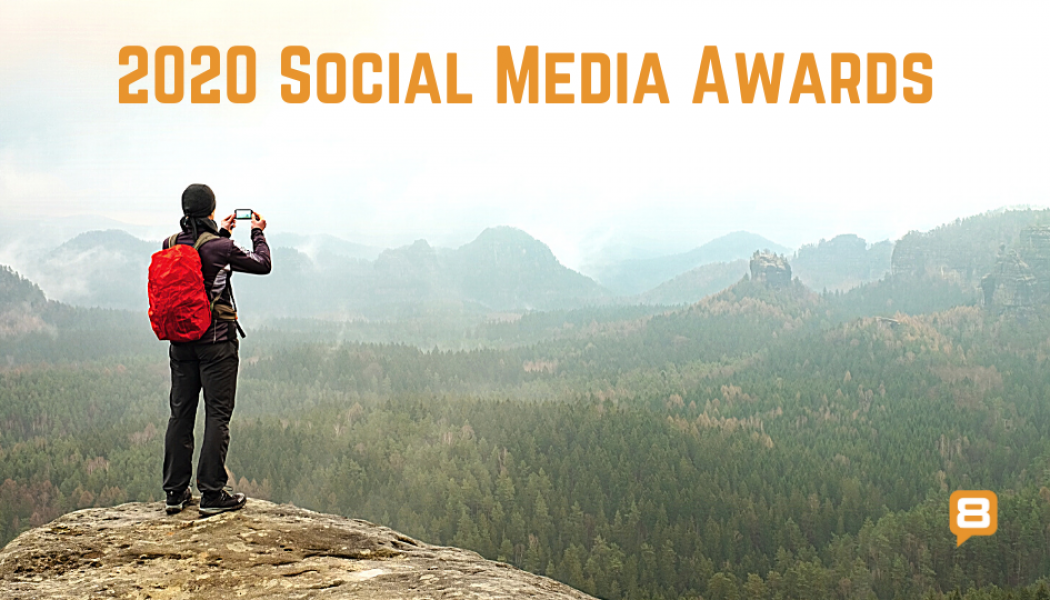 land8 banner - social media awards 2020