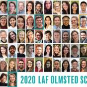 Celebrating the 2020 LAF Olmsted Scholars