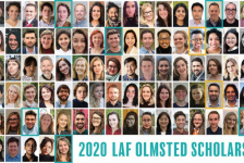 Celebrating the 2020 LAF Olmsted Scholars