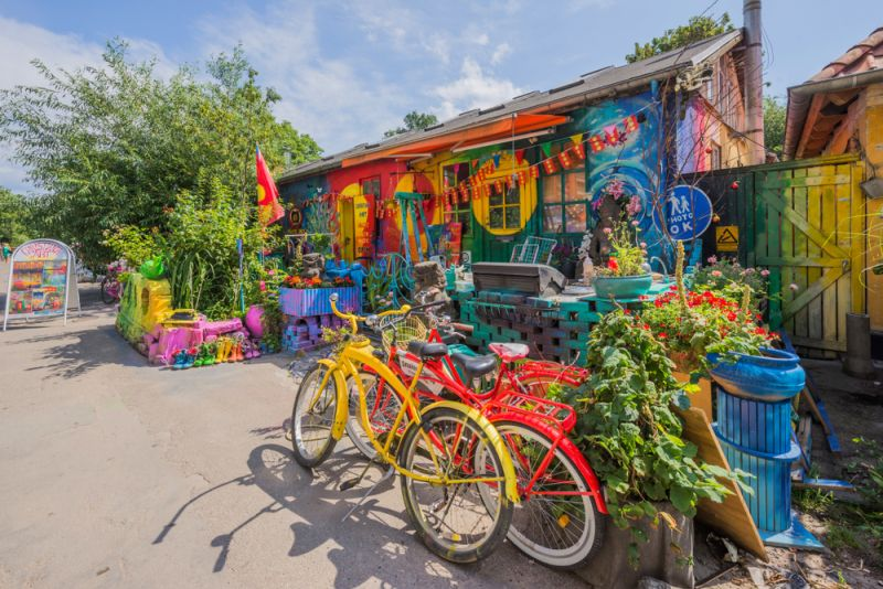 The anarchist commune of Freetown Christiania by Ph:Ikars