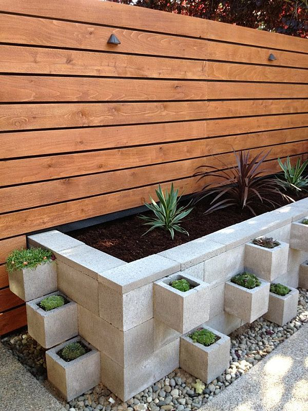 Decorative Concrete Blocks In The, Which Breeze Blocks To Use For Garden Wall