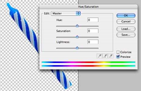 May Photoshop Tutorial: Hue/Saturation for Major Color