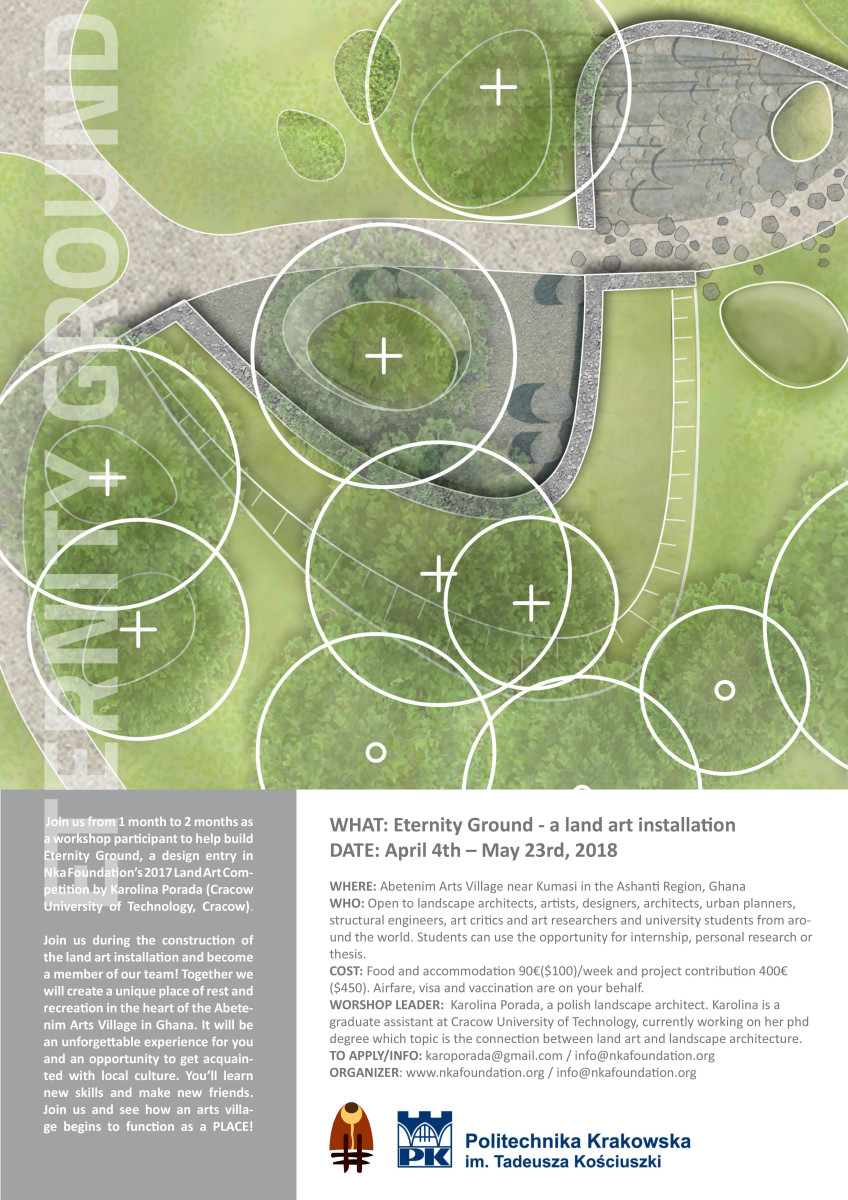 landart competition workshops poster