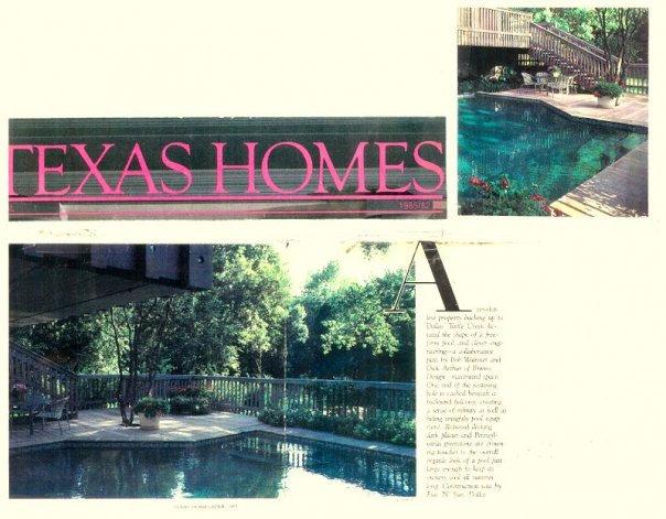 Mr. & Mrs. Bill Roche Residence - Highland Park, Texas