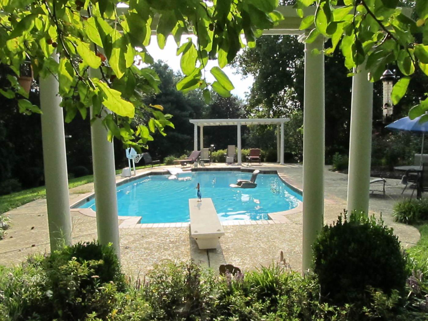 Levitt Pool and Arbors