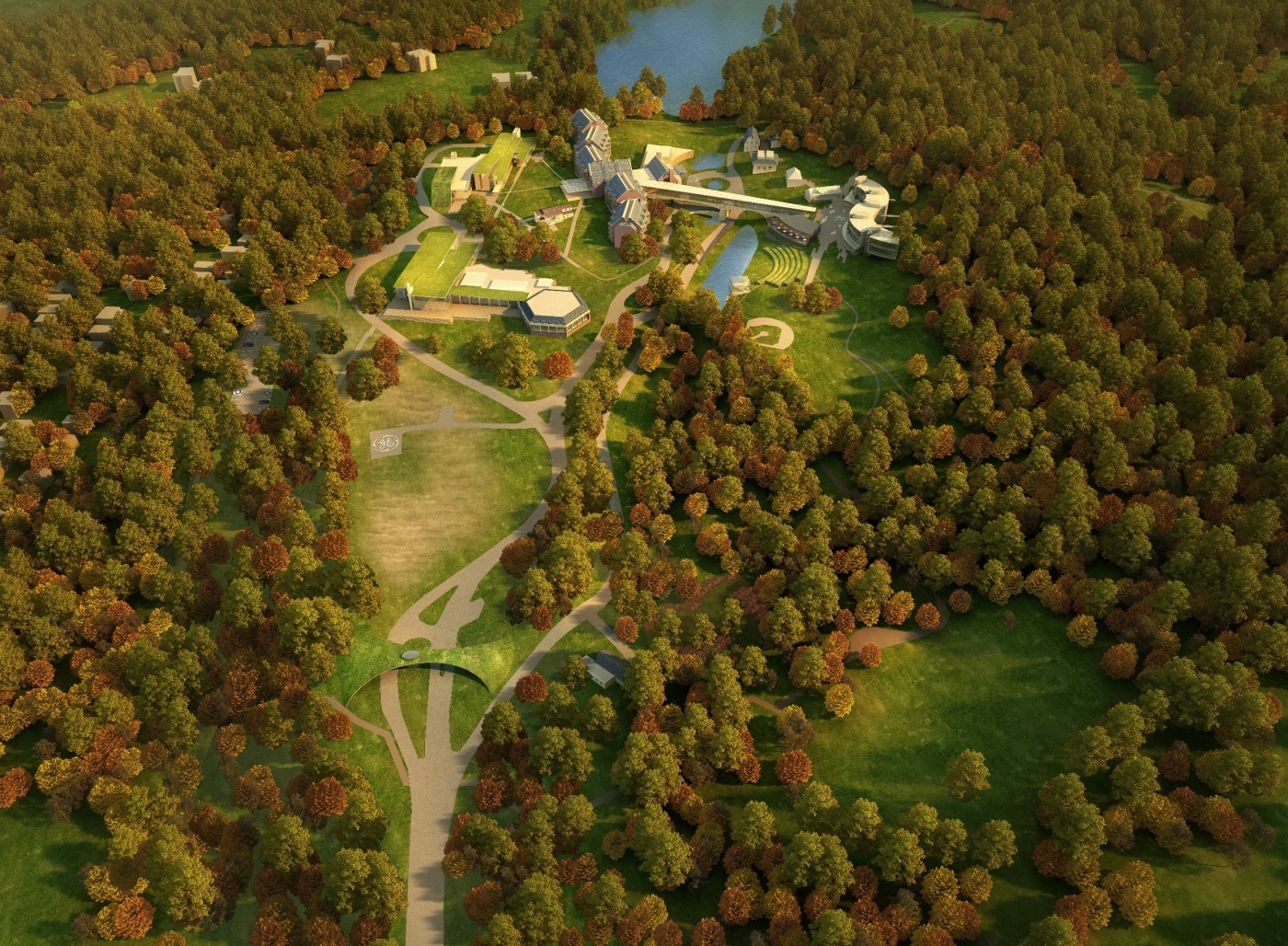Arklinks Campus Aerial 2010.12.01